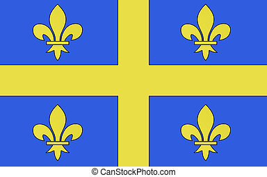 Flag of Chalons-en-Champagne, France - Flag of...