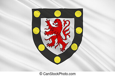 Flag of Chatellerault, France - Flag of Chatellerault is a...