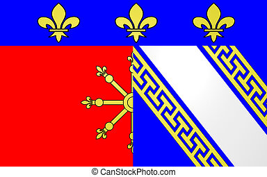 Flag of Chaumont, France - Flag of Chaumont is a commune of...