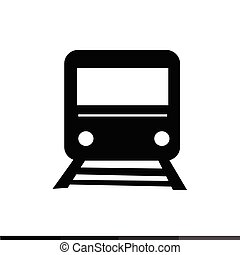 train icon Illustration design