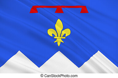 Flag of Alpes-de-Haute-Provence, France - Flag of...