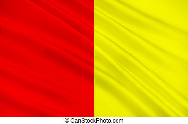 Flag of Grenoble, France - Flag of Grenoble is a city in...