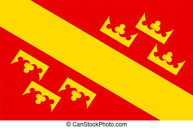 Flag of Haut-Rhin, France - Flag of Haut-Rhin is a...