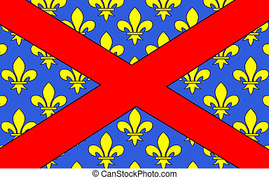 Flag of Langres, France - Flag of Langres is a commune in...