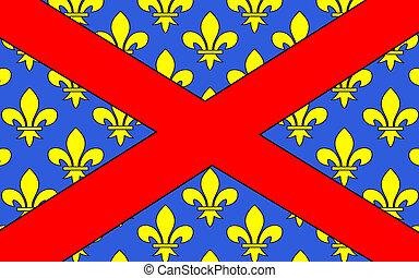 Flag of Langres, France - Flag of Langres is a commune in...