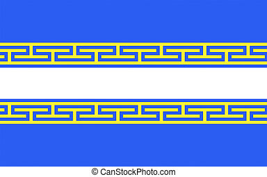 Flag of Marne, France - Flag of Marne is a department in...