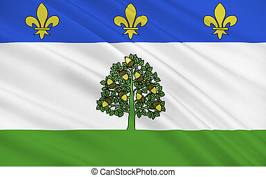 Flag of Privas, France - Flag of Privas is a commune of...