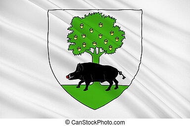Flag of Sedan, France - Flag of Sedan is a commune in...