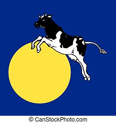 The Cow Jumped over The Moon - The Cow Jumped over the moon