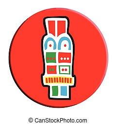 Aztec Acatl - Reed Symbol - Aztec Calendar Symbol, Acatl,...