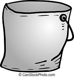 tin bucket - Creative design of tin bucket
