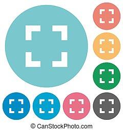 Flat selector tool icons - Flat selector tool icon set on...