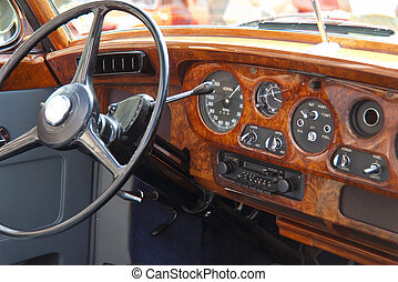 Wood dashboard