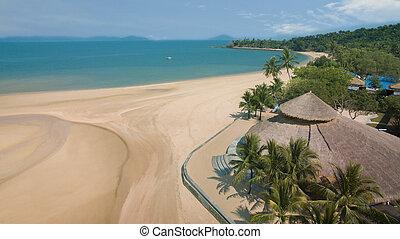 koh payam island andaman sea ranong southern of thailand