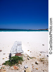 Camps Bay beach, Cape Town South Africa - The beautiful...