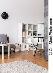 Practical and friendly space for home workers - Very bright...