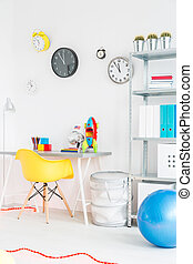 Creative room for your child - Shot of a colorful modern...