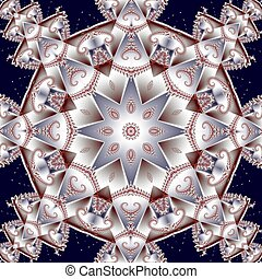 Fabulous fractal background You can use it for invitations,...