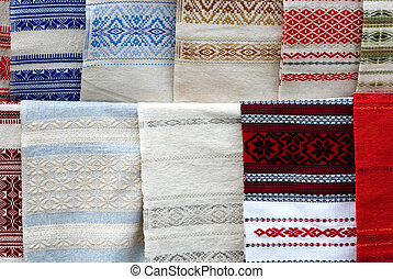 Ukrainian towels