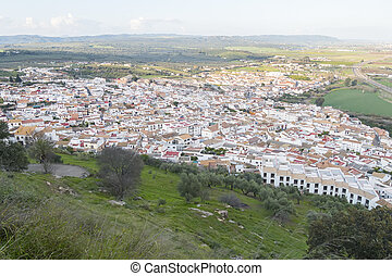 Almodovar, del, Rio, vila, Cordoba, Espanha,
