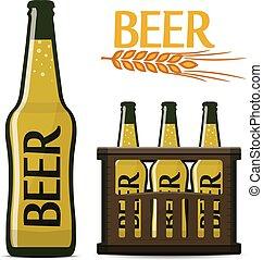 vector beer set