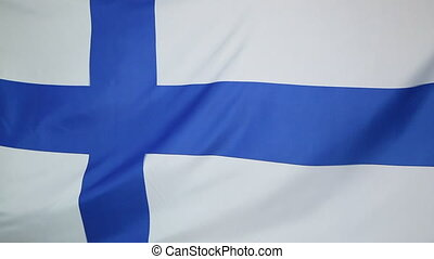 National flag of Finland - Textile national flag of Finland...