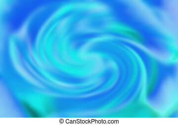 background of twisted in a circle of abstract blue