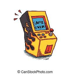 Vintage Arcade game Machine