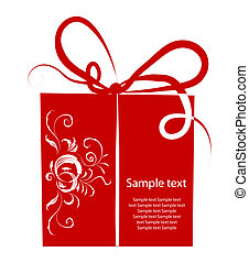 Gift box for your design