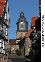 The Castle Church of Herleshausen in Germany