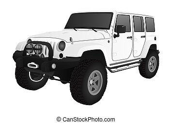 Off-road Vehicle - A sports utility vehicle for off-road...
