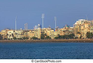 Mumbai city - Mumbai, INDIA - December 6 : Mumbai is the...