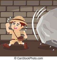 boy explorer dodged cobblestone