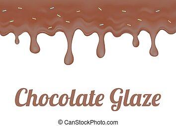 Chocolate Doughnut glaze - a Chocolate Doughnut glaze