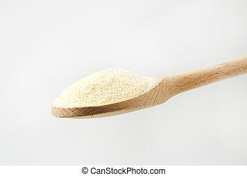 Durum, trigo, semolina, farinha,