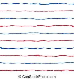 Grunge seamless pattern. - Striped seamless pattern. Hand...