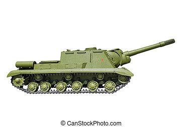 ISU-152 - was a Soviet armored self-propelled gun - ISU-152...