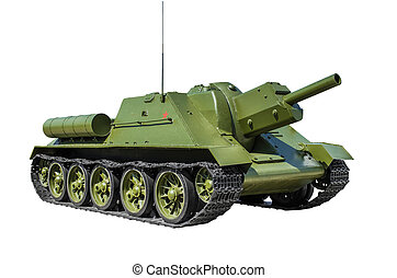 Soviet 122 mm self-propelled gun SUndash;122 - Soviet 122 mm...