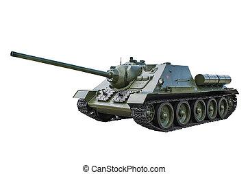 Soviet 85 mm self-propelled gun SUndash;85 - Soviet 85 mm...