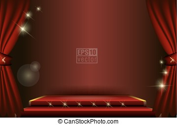 Stage Vector Background - Available in high-resolution and...