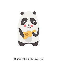 Panda Playing Guitar
