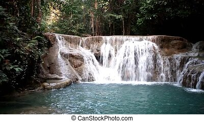 water - Heaven of Thailand Huay Mae Khamin watefall