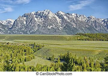 Grand Tetons, Grand Tetons National Park, Wyoming