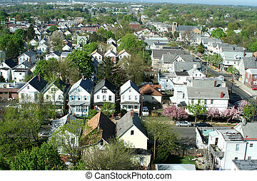neighborhood from above - A neighborhood from above