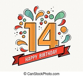 Number 14 Clip Art Vector and Illustration. 595 Number 14 ...