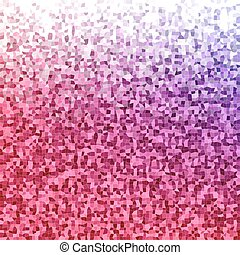 Color irregular rectangle mosaic vector background - Red,...