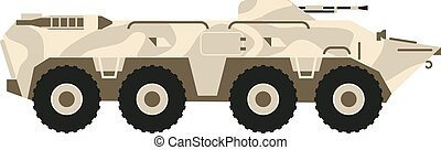 BTR tank vector illustration - BTR tank personal army...