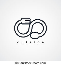 spoon and fork logo theme - spoon and fork restaurant logo...