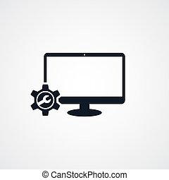 computer desktop repair setting
