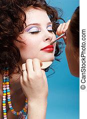 girl\'s make up